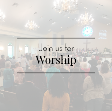 Join us for Sunday Morning Worship each week at 10am