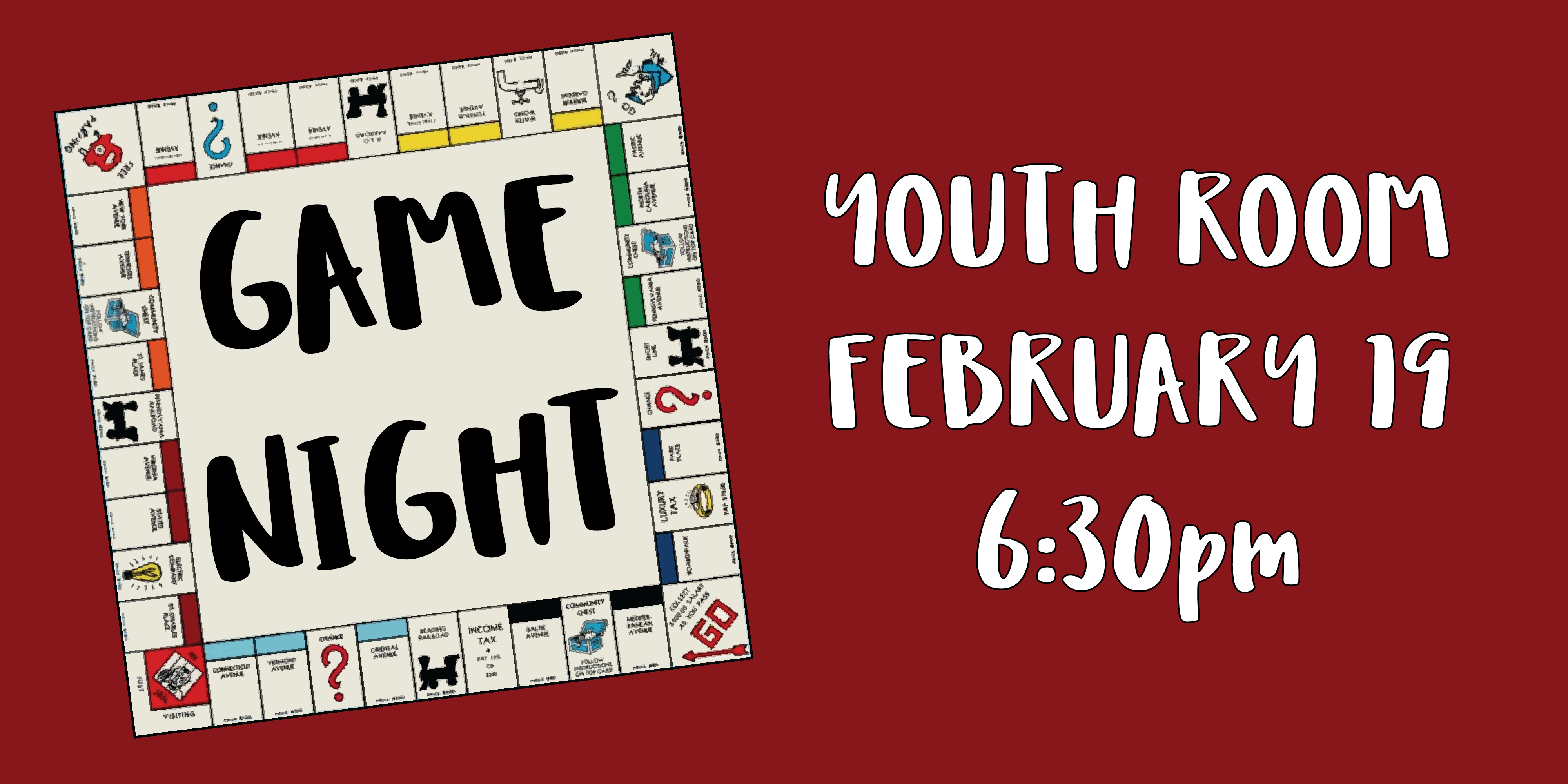 Highlands Presbyterian Church Youth Game Night